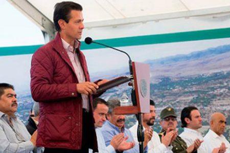 Obras de infraestructura hacen a México más competitivo, señala EPN