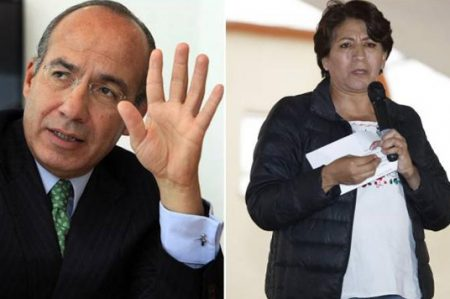 Piden a la Fepade indagar a Calderón por tuit contra Delfina Gómez