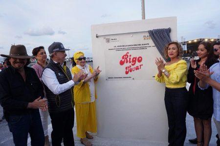 Otorgan nombre de Rigo Tovar a Boulevard costero de Playa Bagdad