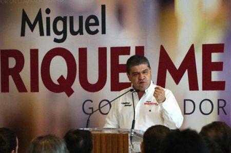 Promete Riquelme detonar crecimiento de región centro de Coahuila