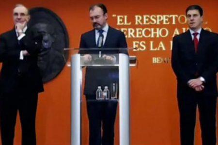 Rechaza Videgaray que busque ser candidato presidencial