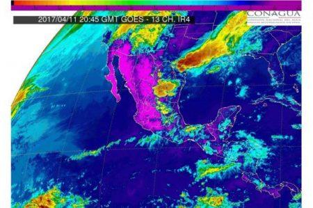 Prevén tormentas y granizo en el noreste y centro del país