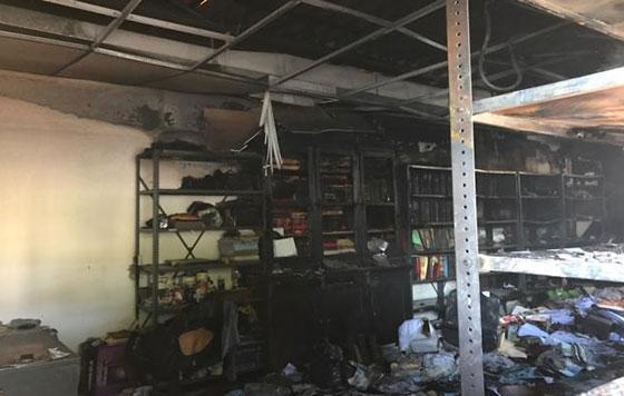 Incendio de Periódico Oficial de Oaxaca deja solo daños materiales