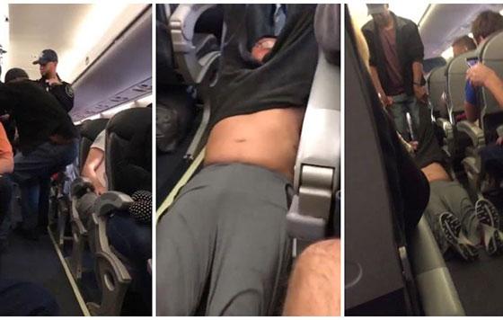 Resultado de imagen para united airlines sacan pasajero a la fuerza