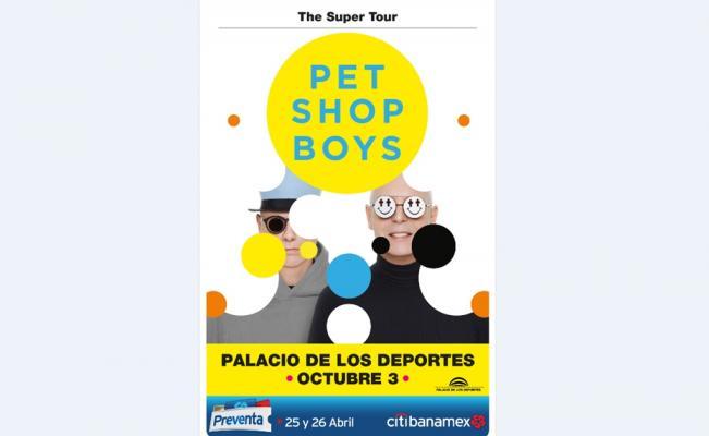 Pet Shop Boys ofrecerán concierto en la CDMX