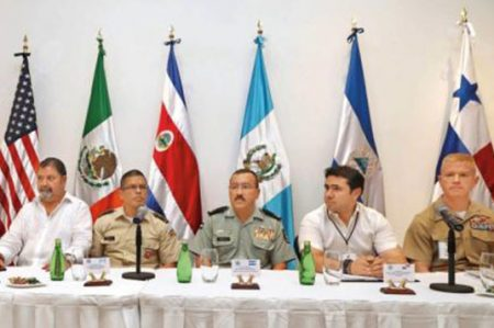 Centroamérica y Estados Unidos van contra el hampa