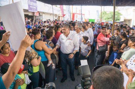 Promete Riquelme nuevo hospital del IMSS en San Pedro