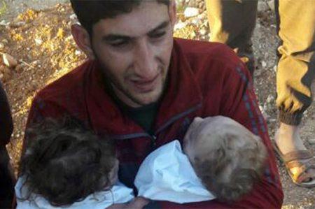 Tras ataque químico en Siria viven el infierno al perder a sus familias (VIDEOS)