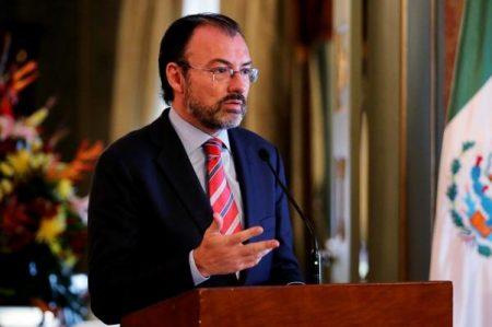 México no responderá a canciller venezolana: Videgaray