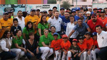 Inauguración del Torneo de la Liga Municipal de Softbol Río Bravo 2017