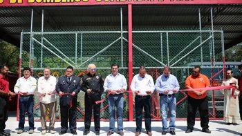 Inaugura Cienfuegos 5a Estación de bomberos