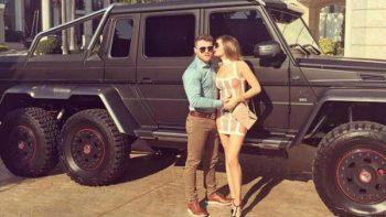La camioneta de los 20 millones de pesos del 'Canelo'