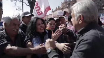 Arropan simpatizantes a AMLO en Chilpancingo