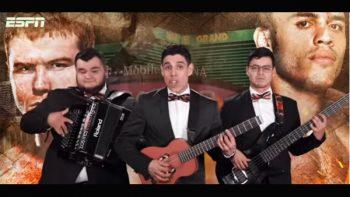 Los Tres Tristes Tigres cantan al 'Canelo' y a Chávez Jr.
