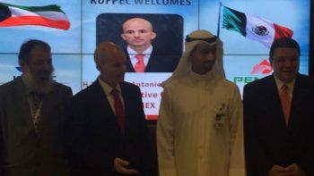 Director de Pemex se reúne con directivos petroleros de Medio Oriente
