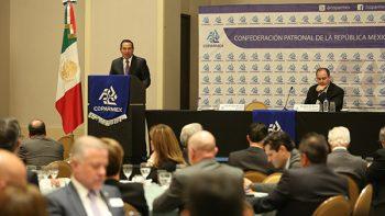 Convoca Luis Miranda a la Coparmex a integrarse a la Estrategia Nacional de Inclusión