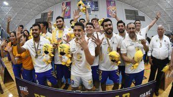 Se despide UANL de Universiada con oro en voleibol varonil
