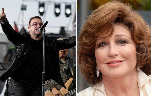 Bono de U2 y Angélica María vivieron un inesperado romance