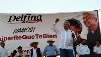 Reitera AMLO a Zepeda y González declinar por Delfina