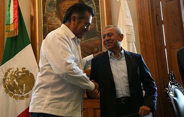 Presentan nuevo Secretario de Seguridad en Nuevo León