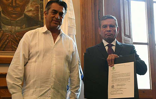 Renuncia 'por motivos personales' el Secretario de Seguridad de Nuevo León