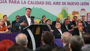 Presenta Nuevo León plan para mejorar la calidad del aire