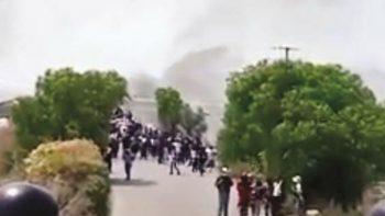 En otro video se muestra agresión de huachicoleros contra Ejército
