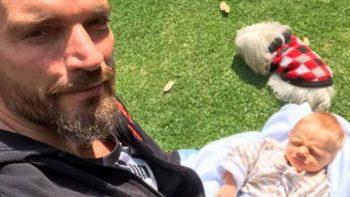 Julián Gil habla del reencuentro con su hijo: 'Me lo comí a besos'