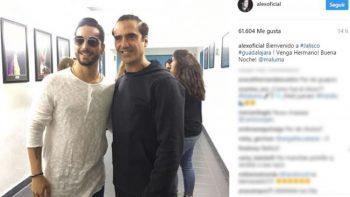 Alejandro Fernández y Maluma coinciden en Guadalajara