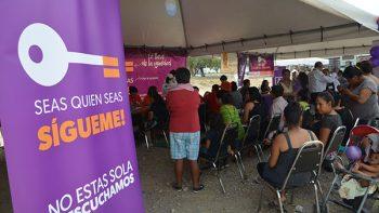 Lleva Instituto Estatal de las Mujeres brigadas a la comunidad
