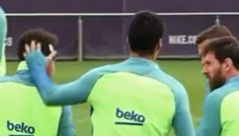 Messi y Suárez comparan a Neymar con Ochoa