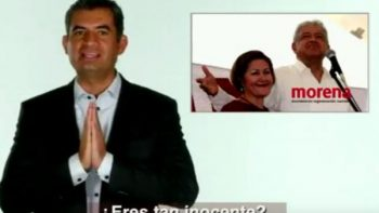 INE rechaza bajar spot 'Inocente' contra AMLO