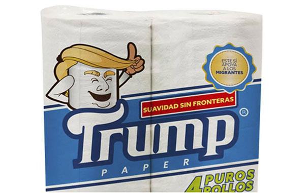 Lanza empresario mexicano papel de baño marca