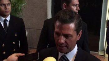 Hechos en Palmarito habrán de investigarse: Peña Nieto