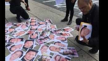 #NosEstánMatando, protestan periodistas en el Ángel de la Independencia