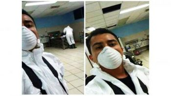 Despiden a empleado de la Procuraduría de BCS por 'selfie' en Semefo