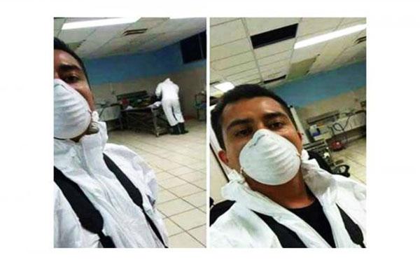 Cesan a perito por tomarse selfie en la morgue