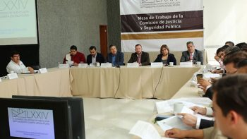 Congreso analiza que el sistema penitenciario dependa de la Secretaría General de Gobierno
