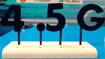Telcel ofrecerá red 4.5G a finales de año