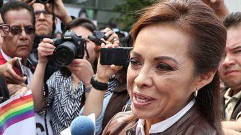 Josefina Vázquez Mota regala bolsas de pan en Edomex