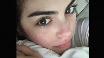 Ximena Navarrete se contagia de publicar fotos sin maquillaje