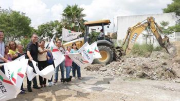 Construirá municipio de Juárez parque lineal en colonia Valle Sur