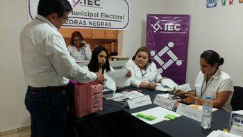 Por fin llega el primer primer paquete electoral en Piedras Negras