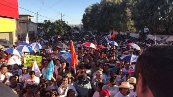 Continúa firme el Frente por la Dignidad de Coahuila