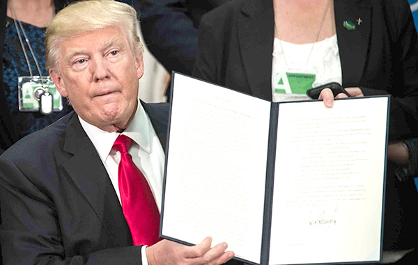 Construcción del muro fronterizo de Trump iniciaría en 2018