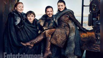 Publican nuevas imágenes de 'Game of Thrones'