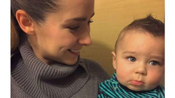 Ariadne Díaz no teme mostrar a su hijo Diego