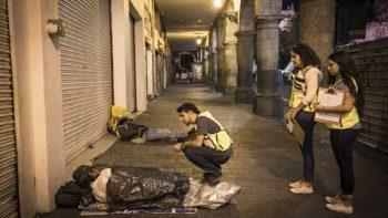 En Jalisco efectúan programa 'Atención a personas en situación de calle'