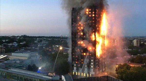 Incendio de la torre Grenfell en Londres causó 58 muertos