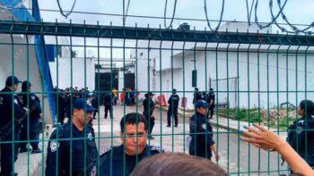 Trabajan en restablecer el orden en Cereso de Chetumal